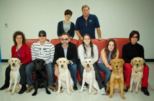 Entrega de Perros Fundación Once