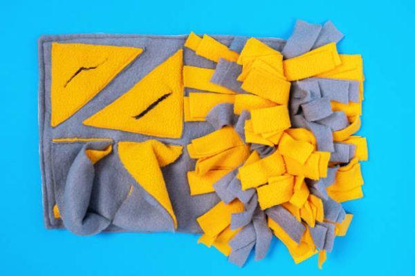 Como hacer una alfombra olfativa
