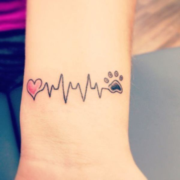 Tatuajes De Huellas De Perro 2021 Ideas Y Diseños Animalesmascotas