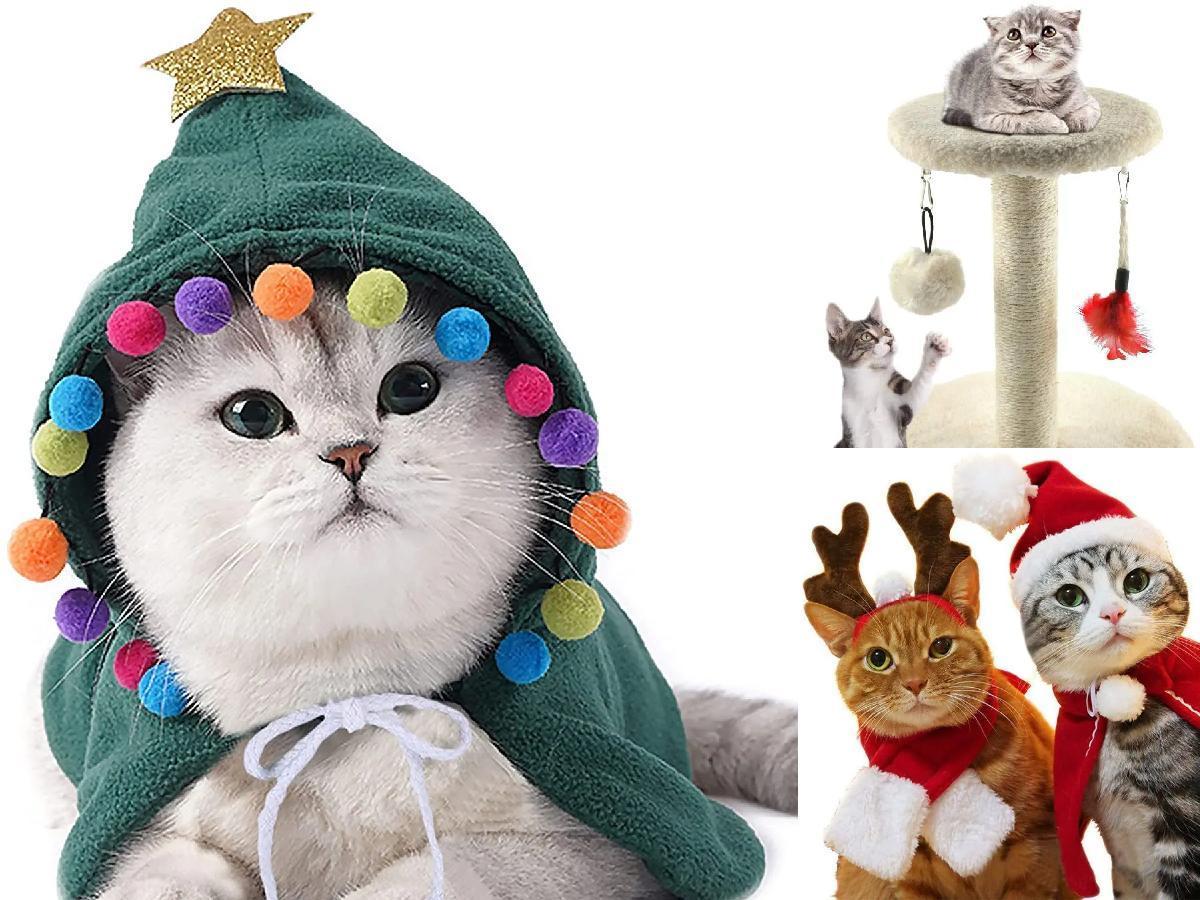 10 regalos de Navidad para gatos portada