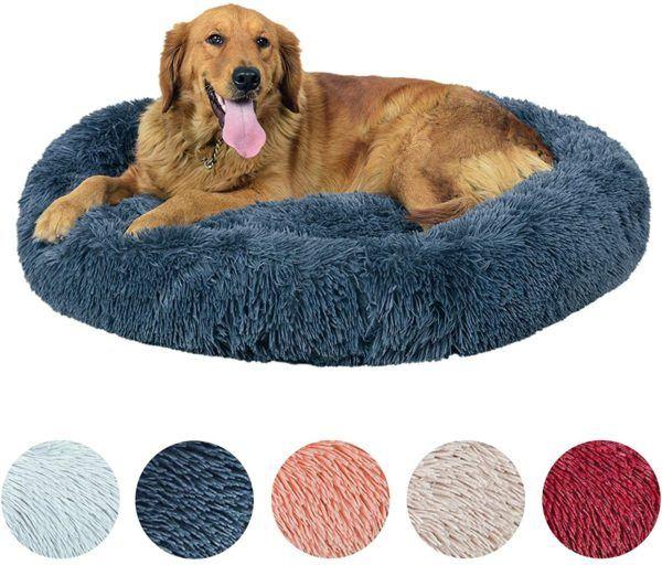 10 regalos de Navidad para perros cama