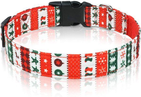 10 regalos de Navidad para perros collar