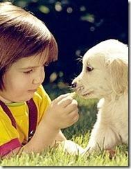cachorro ni%C3%B1a
