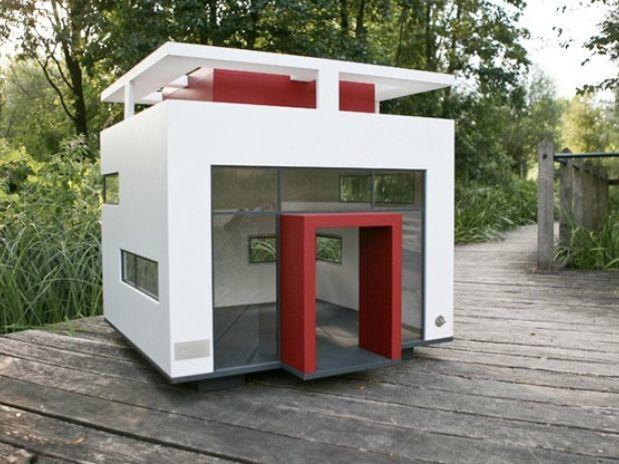 Casa para perros estilo bauhaus animalesmascotas for Casas reducidas