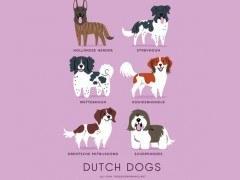 200 razas de perros clasificadas según su país de origen