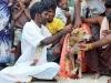 Niña y perro se casan para enfrentar a los malos espíritus