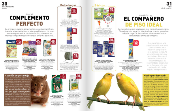 catalogo-mas-que-mascotas-el-corte-ingles-roedores-y-aves
